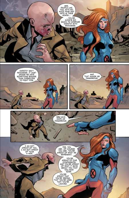 X-Men Red #9 Moment