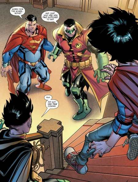 Adventures of the Super Sons 4 Highlight
