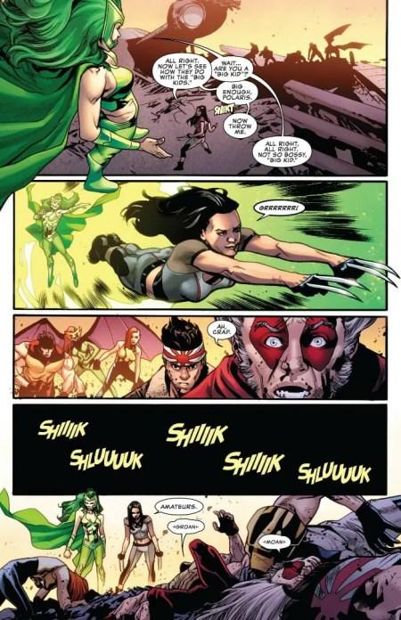 Uncanny X-Men 1 Highlight