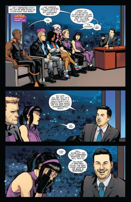 West Coast Avengers 4 Highlight