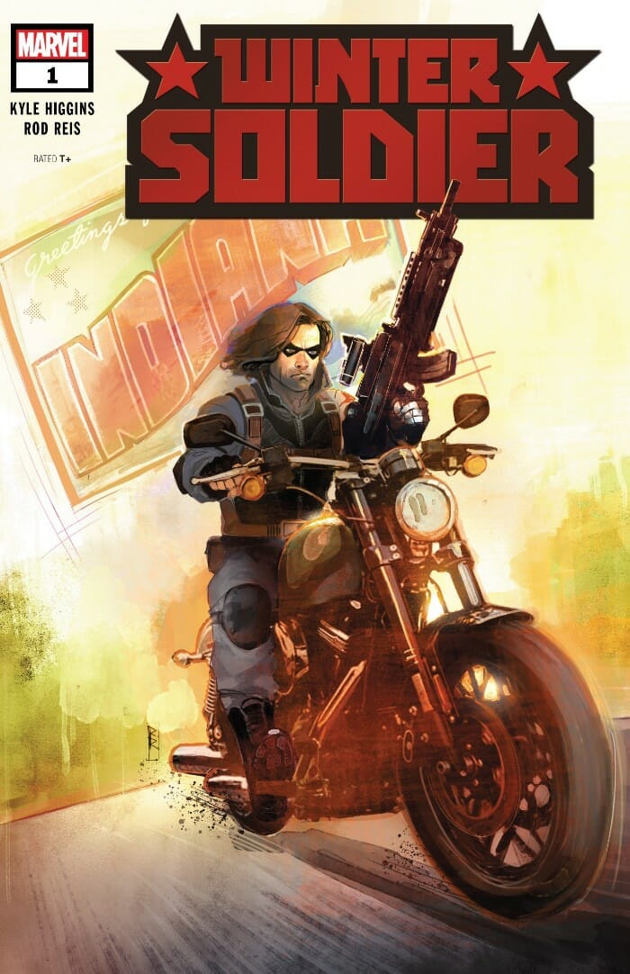 Winter Soldier #1 Review - Comic Book Revolution
