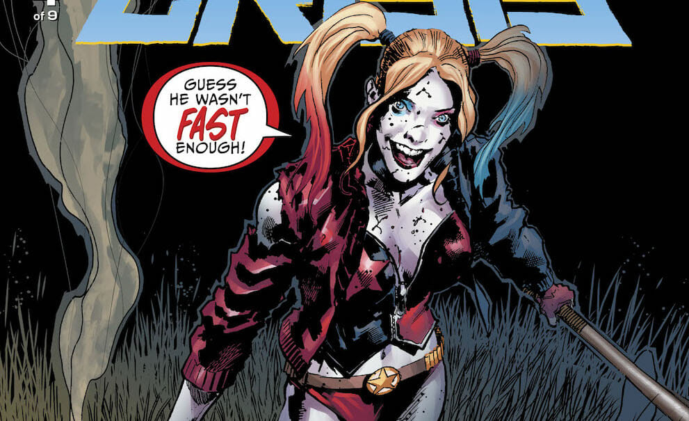 DC Comics Heroes in Crisis #4 Review