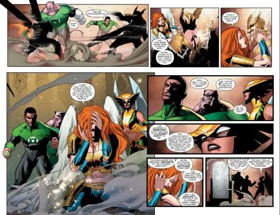 Justice League 16 Moment