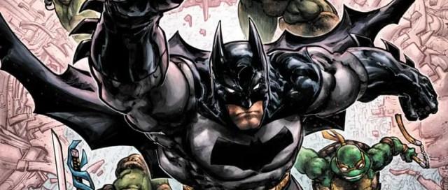 Batman/Teenage Mutant Ninja Turtles III #1 Cover