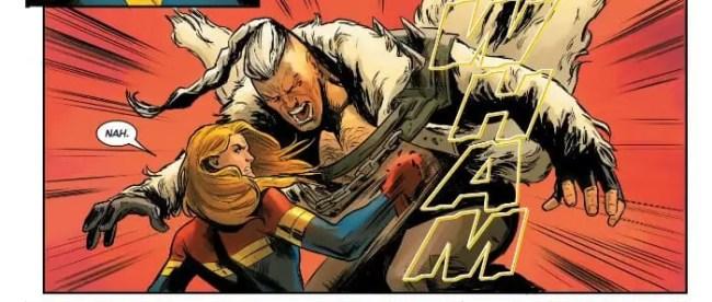 Captain Marvel #2: Captain Marvel vs Nuclear Man