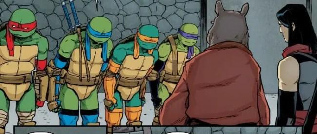 Teenage Mutant Ninja Turtles #91 Turtles Karai Splinter