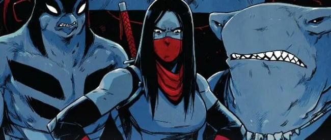 Teenage Mutant Ninja Turtles #91 Cover