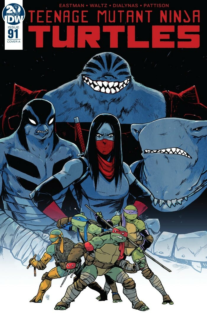 Teenage Mutant Ninja Turtles #91 Review - Comic Book Revolution