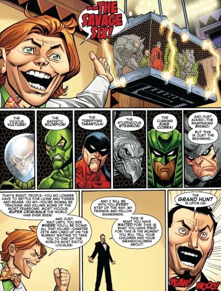 Amazing Spider-Man #16 Kraven Assemble His Prey