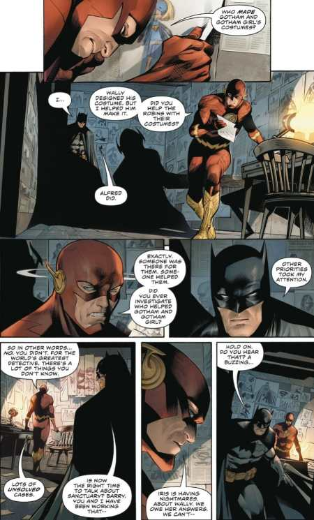 Flash #64 Flash Confronts Batman