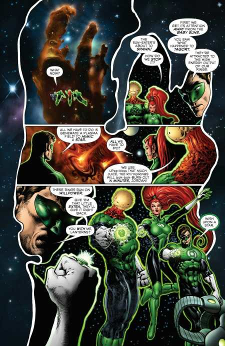 Green Lantern #4 Hal Jordan Powers Up