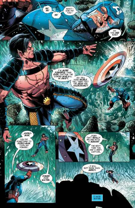 Invaders #2 Namor Shows Captain America His New Power