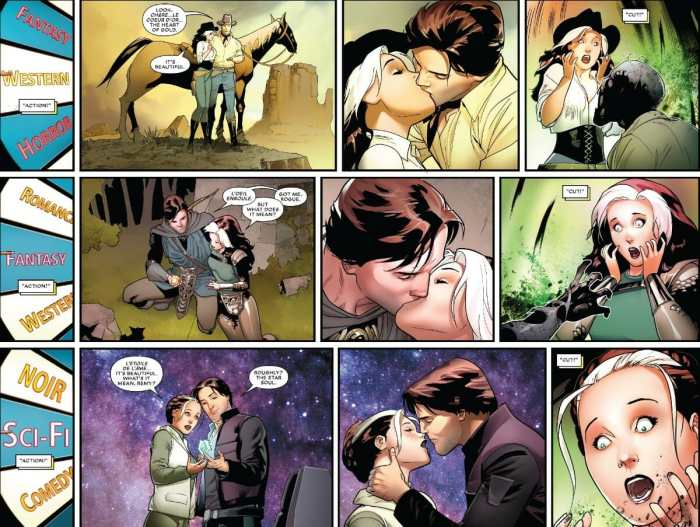 Mr. & Mrs. X #8 Rogue and Gambit Enter The Star Wars Universe