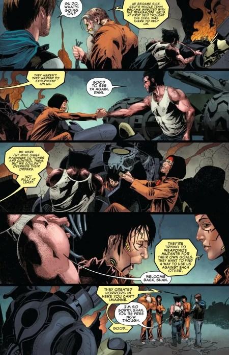 Uncanny X-Men #12 New Sentinels