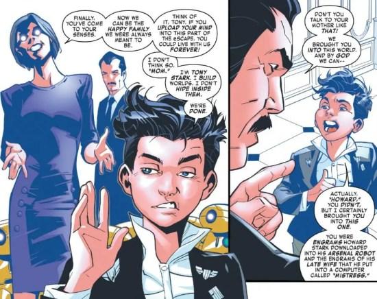 Tony Stark Iron Man 10 Moment