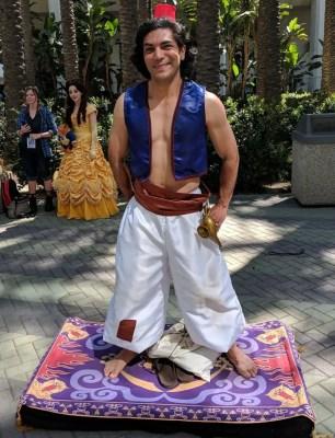 WonderCon 2019 Aladdin