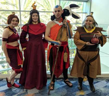 WonderCon 2019 Avatar The Last Airbender Fire Nation