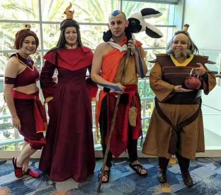 WonderCon 2019 Avatar The Last Airbender Fire Nation
