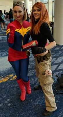 WonderCon 2019 Captain Marvel Kim Possible