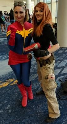 WonderCon 2019 Captain Marvel Kim Possible