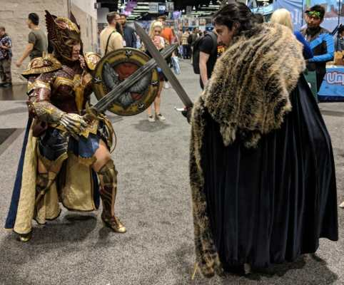 WonderCon 2019 Game Of Thrones Wonder Woman