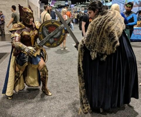 WonderCon 2019 Game Of Thrones Wonder Woman