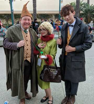 WonderCon 2019 Harry Potter Fantastic Beast