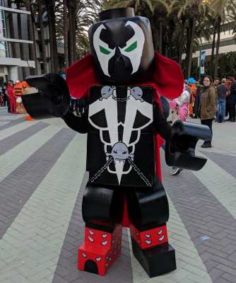 WonderCon 2019 Lego Spawn