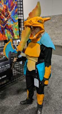 WonderCon 2019 Pokemon Charizard Warrior