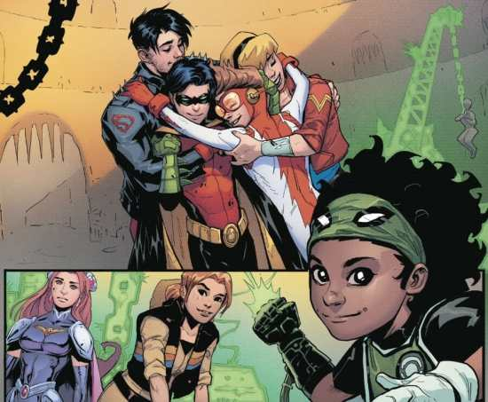 Young Justice #4 Moment