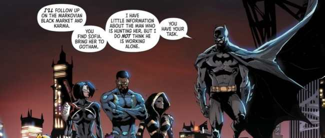 DC Comics Batman and the Outsiders #1 Review