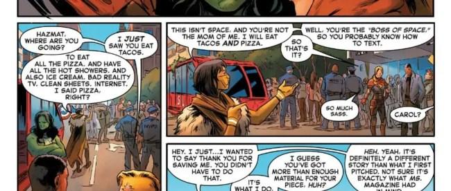 Captain Marvel #5 Review