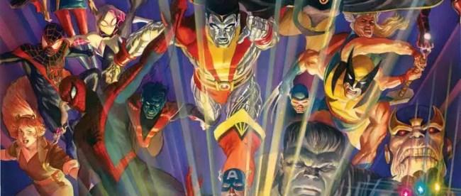 Marvel Comics #1000 Cover