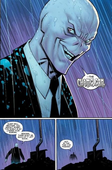Amazing Spider-Man #23 Chameleon Reveal Moment
