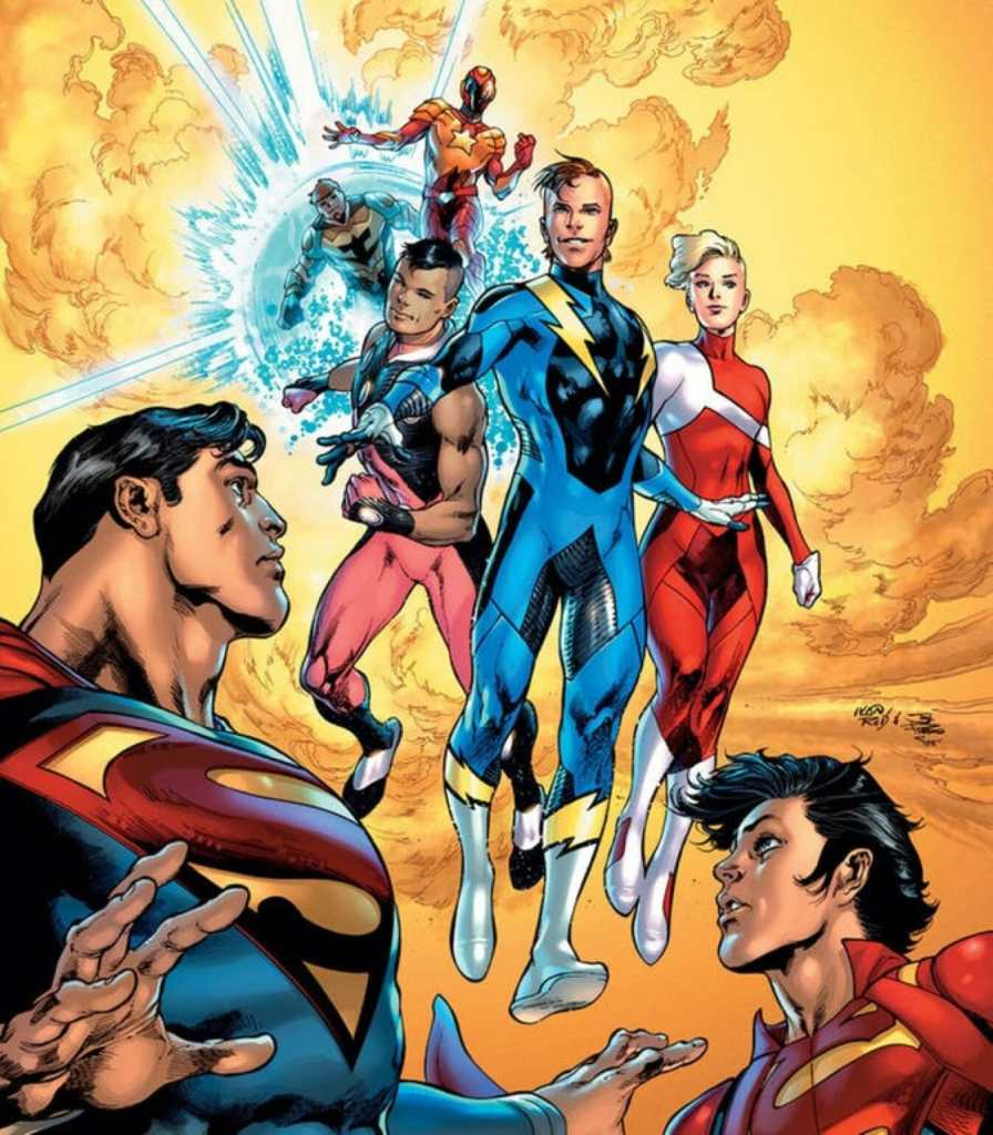 DC Comics Bendis Legion of Super-Heroes