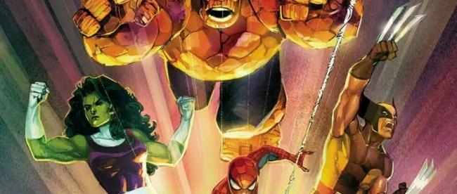 Marvel Comics #1001 Cover