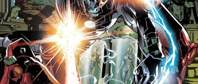 Tony Stark: Iron Man #16 Cover
