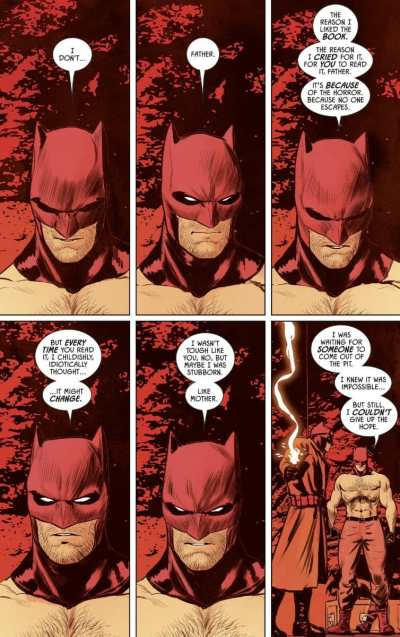 Batman #74 Moment