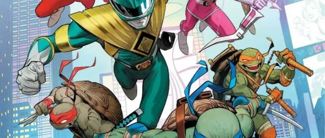 SDCC 19 Mighty Morphin Power Rangers Teenage Mutant Ninja Turtles