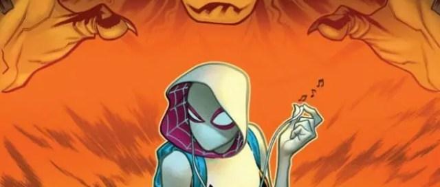SDCC 2019 Spider-Man Ghost Spider Jackal
