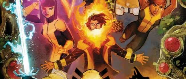 SDCC 2019 X-Men Panel New Mutants Cover
