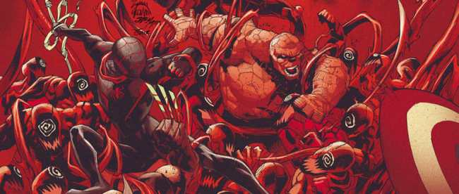 Absolute Carnage #5 Cover