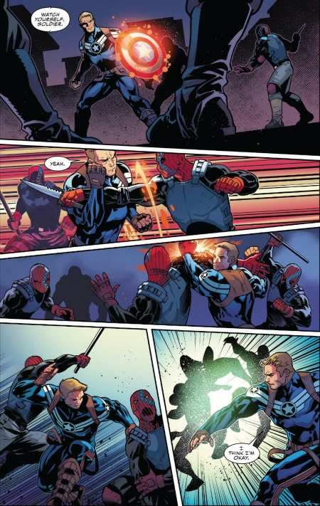 Captain America #13 Highlight