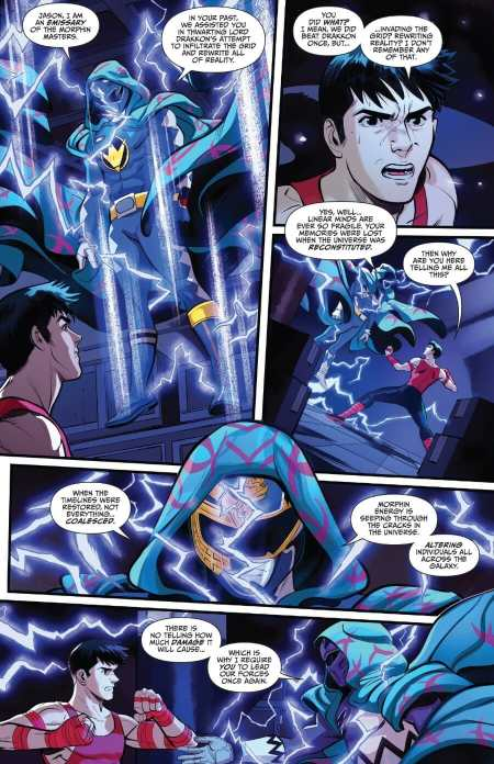 Go Go Power Rangers #22 Highlight