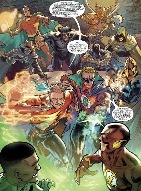 Justice League #30 Highlight