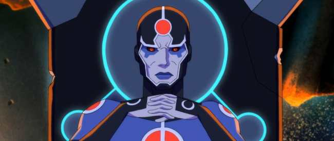Young Justice Outsiders Episode 25 Overwhelmed Metron