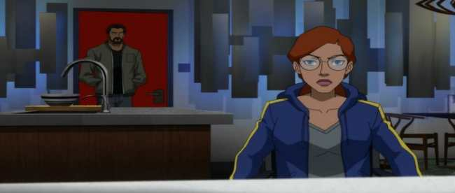 Young Justice Outsiders Episode 26 Nevermore Oracle Black Lightning