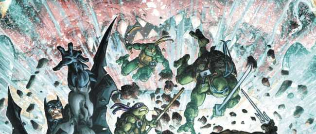 Batman/Teenage Mutant Ninja Turtles III #5 Cover
