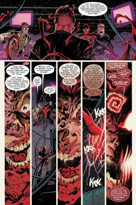 Absolute Carnage 3 Cletus Kasady Reveals Origin Story