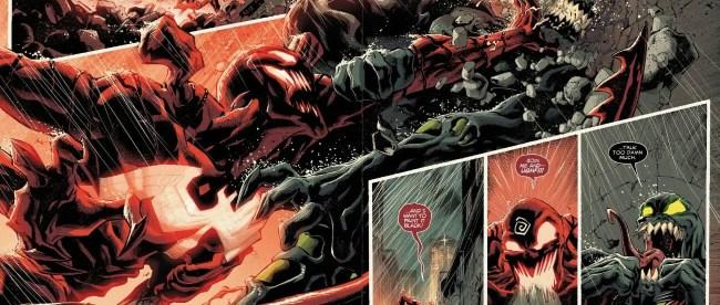 Dark Carnage Overpowers Venom Hulk